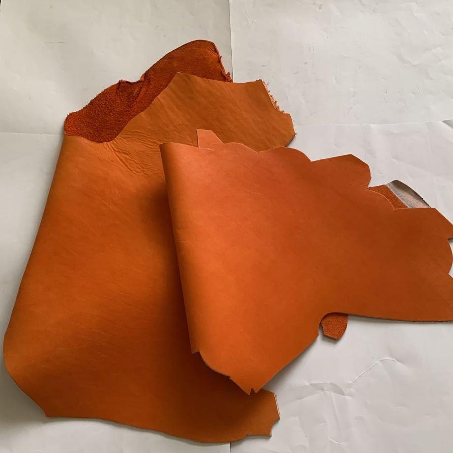 レザークラフト 練習用端材 一箱 希少部位多数 グローブレザー・ラムスキン・ヌメ革
