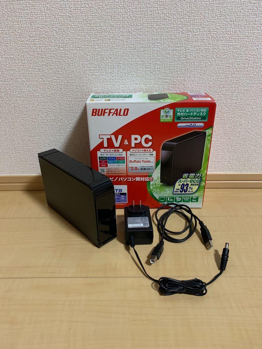 BUFFALO 外付けHDD 1TB