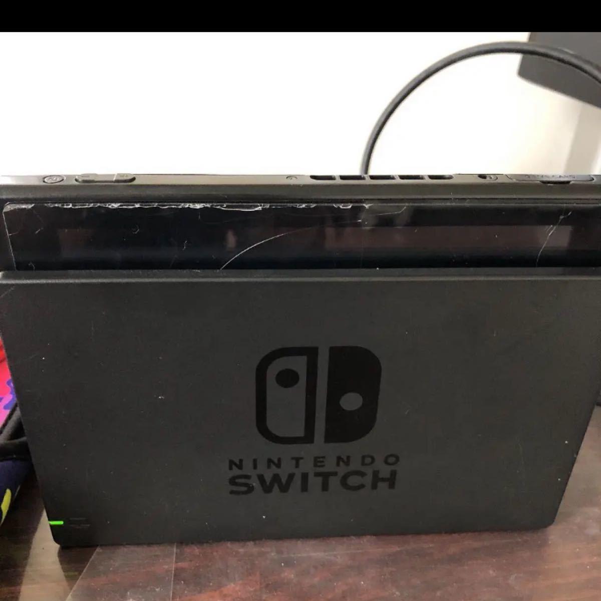 Nintendo Switch 本体 スイッチ Joy-Con ブルー ジャンク品