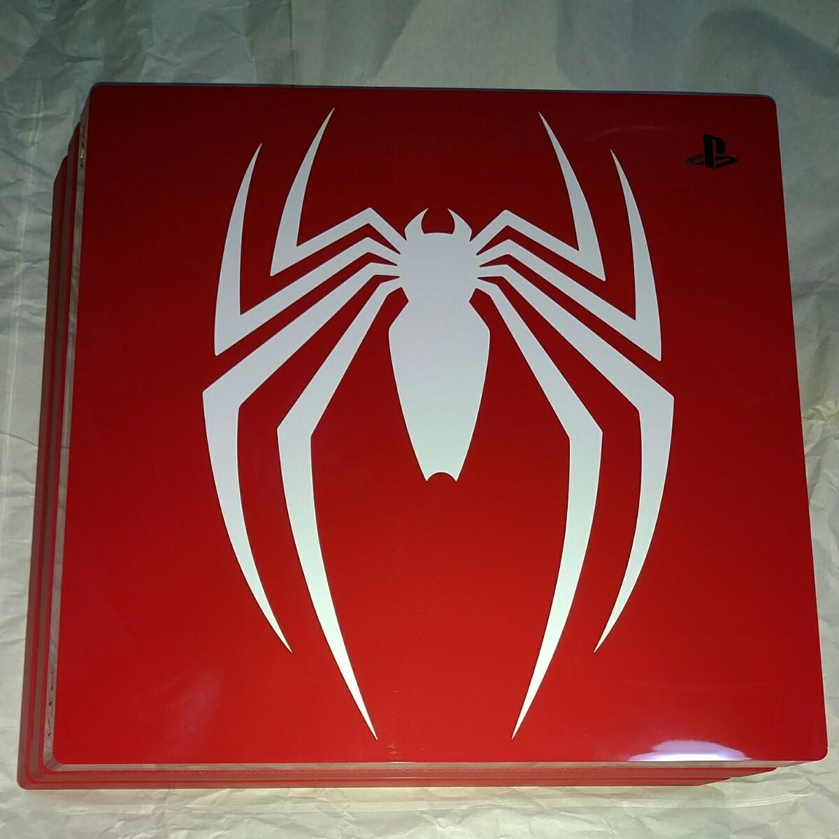 PS4 pro 動作確認済み スパイダーマン 限定版 Marvel''s Spider-Man