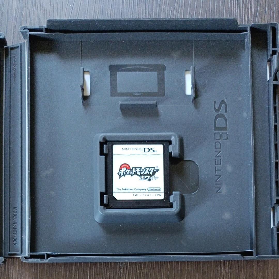 ポケットモンスター ホワイト   ニンテンドーDS ソフト 6枚収納ケースセット