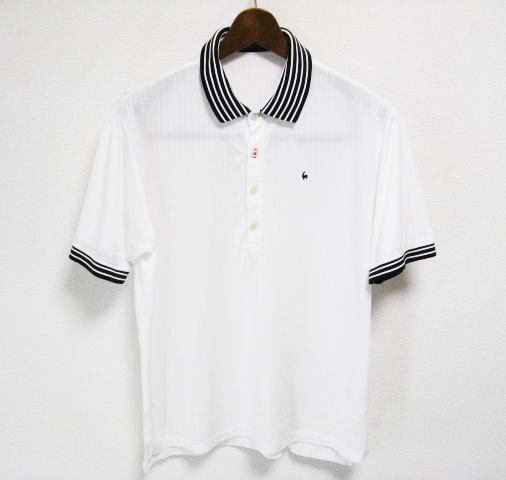 le coq sportif GOLF COLLECTION ルコックゴルフ 半袖ポロシャツ LLサイズ XL 2L O_画像1