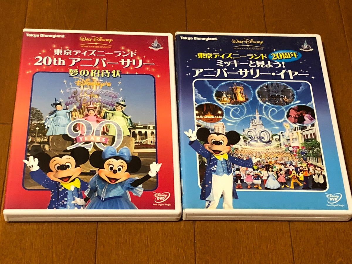 ディズニー DVD 2枚セット