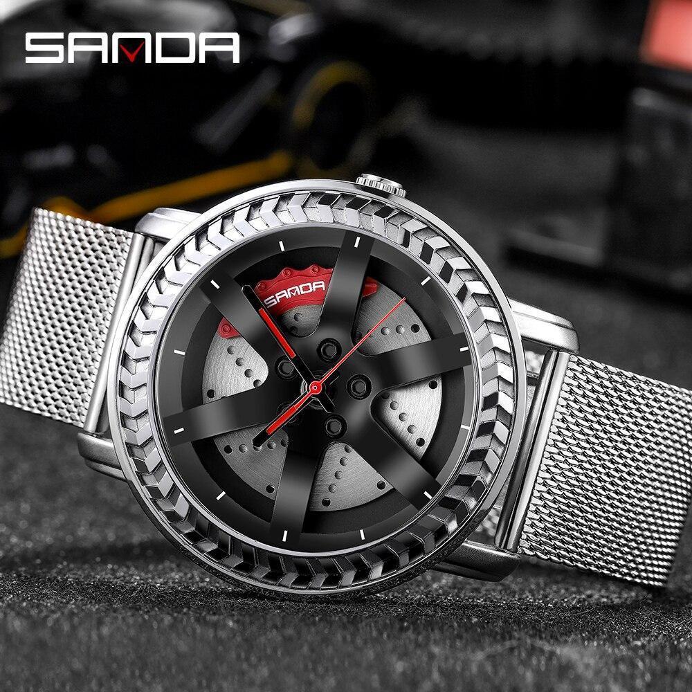 【中古売ります】【最安値に挑戦】三田ファッションスポーツメンズ腕時計高級クォーツ腕時計ビジネス防水時計レロジオmasculino P1050_画像1
