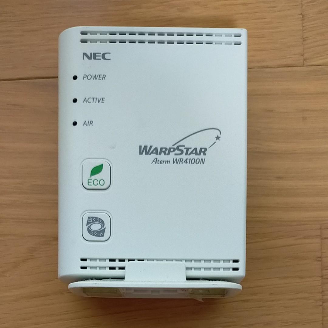 無線LANルーター  NEC Aterm WR4100N