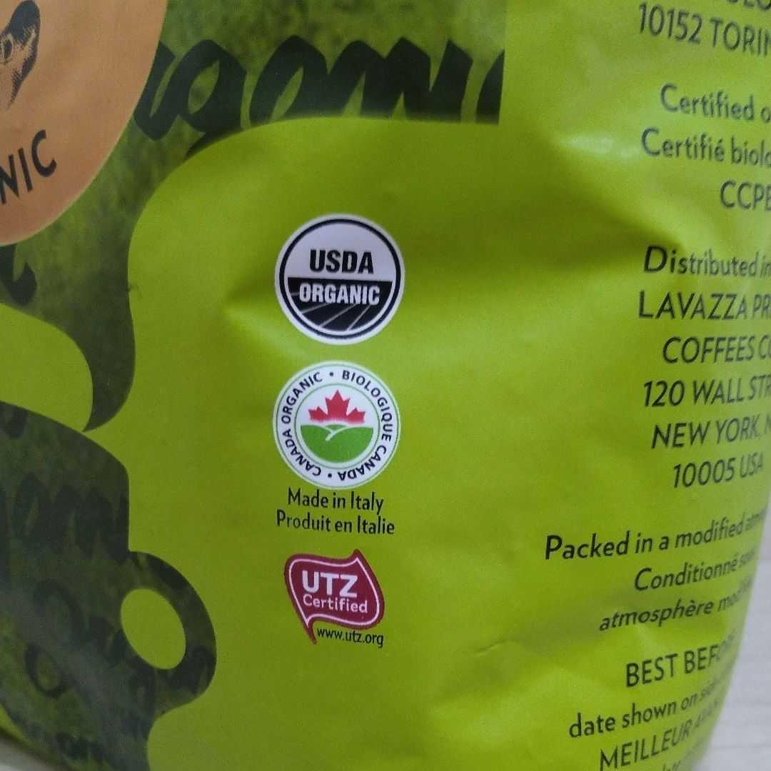 コストコ LAVAZZA  TIERRA  ラバッツァ ティエラ オーガニック コーヒー豆 1㎏ 2袋
