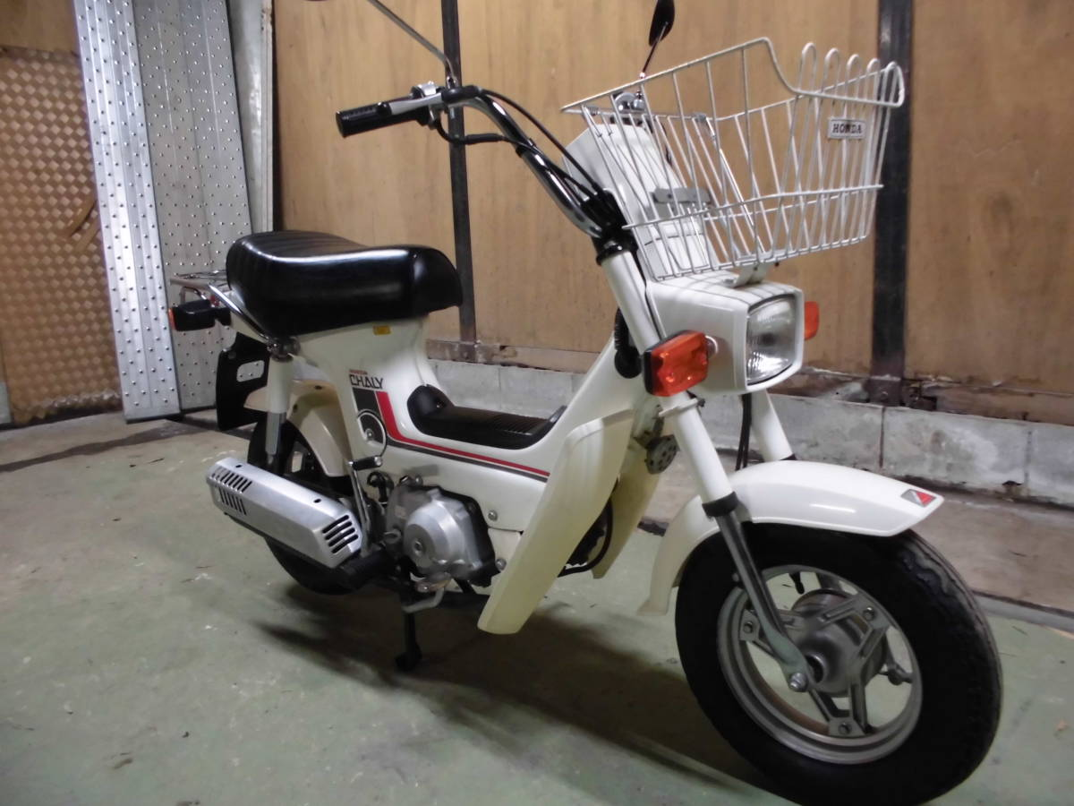 「ホンダ シャリー50CF50型モデル。6V 千葉市~格安発送あり。」の画像1