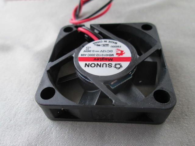 電気機器の冷却に ◆1個売り~ SUNON『 ミニミニ DC冷却ファン 』_画像6