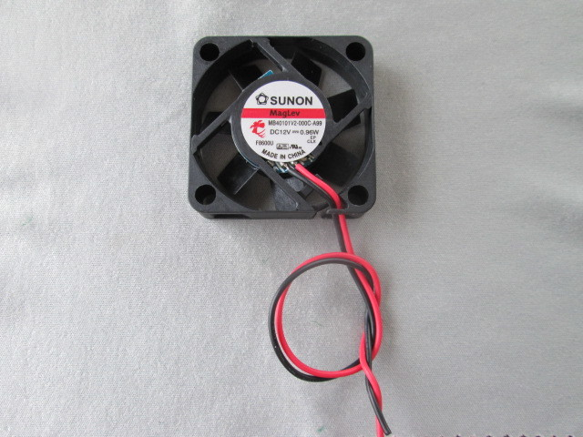 電気機器の冷却に ◆1個売り~ SUNON『 ミニミニ DC冷却ファン 』_画像1
