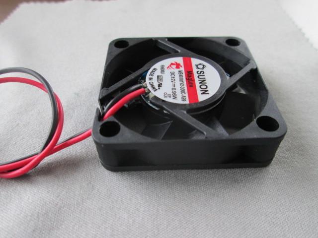 電気機器の冷却に ◆1個売り~ SUNON『 ミニミニ DC冷却ファン 』_画像5
