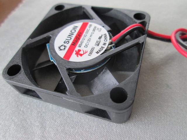 電気機器の冷却に ◆1個売り~ SUNON『 ミニミニ DC冷却ファン 』_画像3