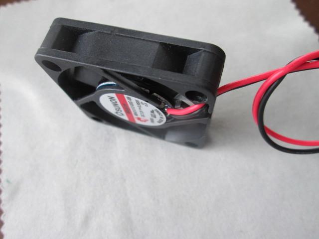電気機器の冷却に ◆1個売り~ SUNON『 ミニミニ DC冷却ファン 』_画像10