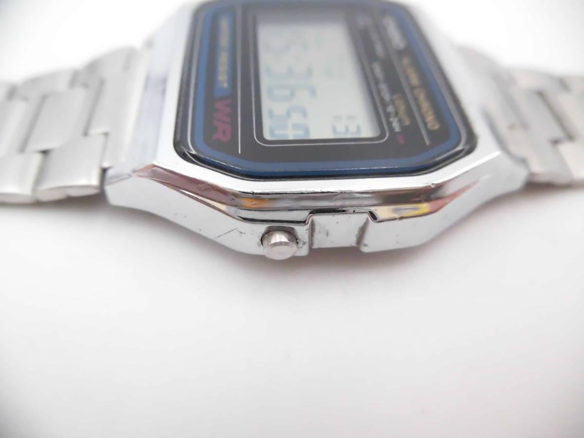 ☆ YMK175 CASIO カシオ チープカシオ デジタル 腕時計 生活防水 A158W ☆_画像2