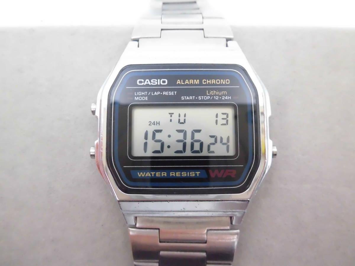 ☆ YMK175 CASIO カシオ チープカシオ デジタル 腕時計 生活防水 A158W ☆_画像1