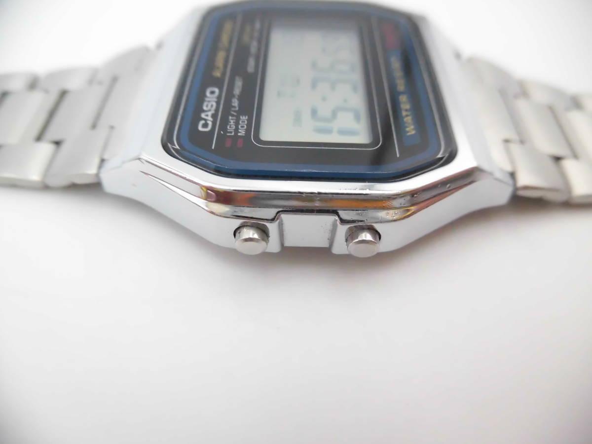 ☆ YMK175 CASIO カシオ チープカシオ デジタル 腕時計 生活防水 A158W ☆_画像3
