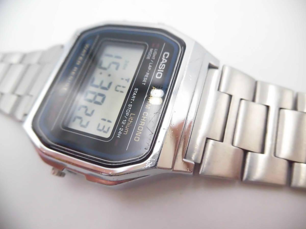 ☆ YMK175 CASIO カシオ チープカシオ デジタル 腕時計 生活防水 A158W ☆_画像4