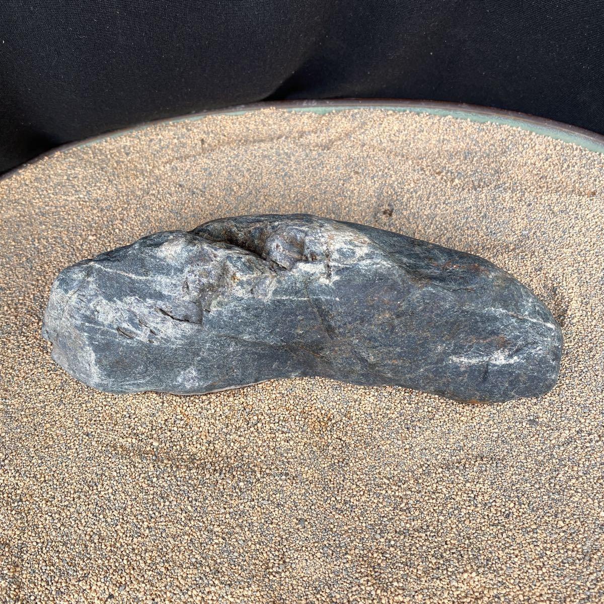 富士川石 島形 水石 鑑賞石_画像5