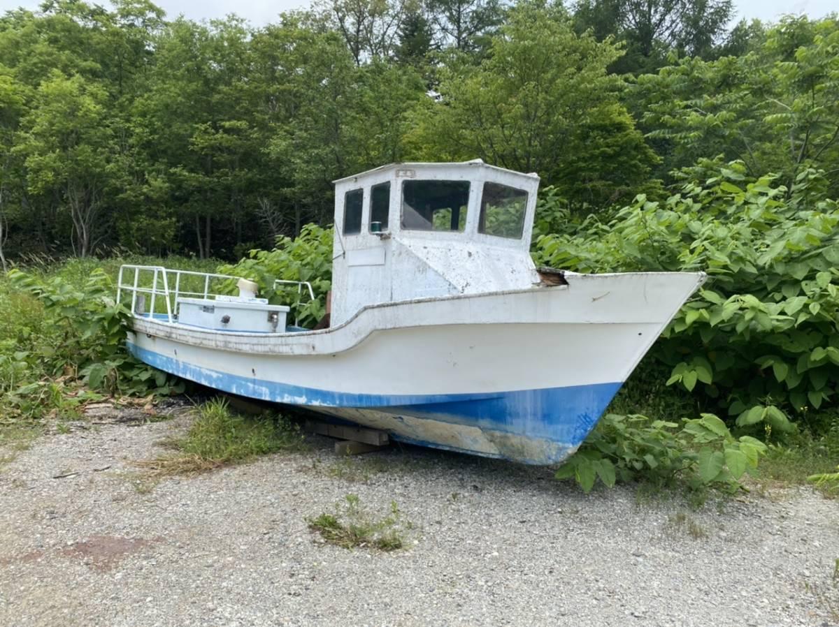 「北海クラフト29  釣り船29フィート 書類あり 札幌発」の画像1