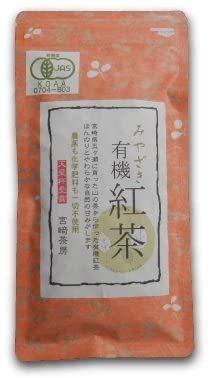 宮崎茶房(有機JAS認定、無農薬栽培)、有機国産紅茶(リーフ)50g、_画像1