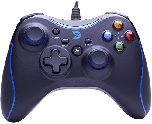任天堂スイッチ プロコントローラー Switch有線 ブルー ゲームパッド PC スチーム TVボックス PC Android用