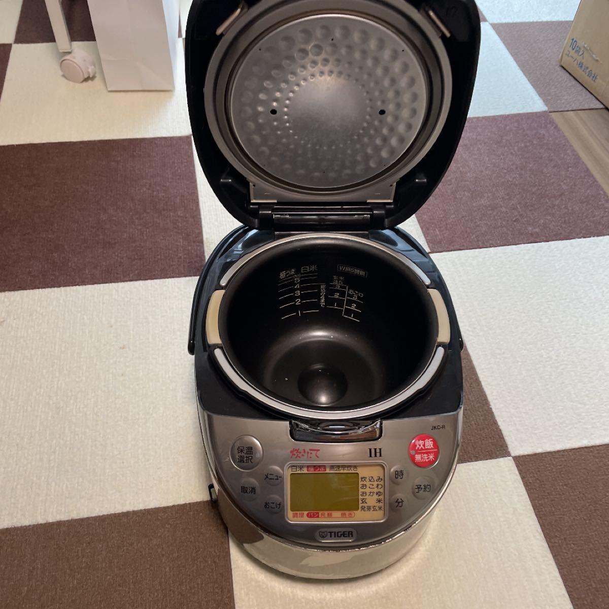 タイガー TIGER IH炊飯器 JKC-R100 5.5合