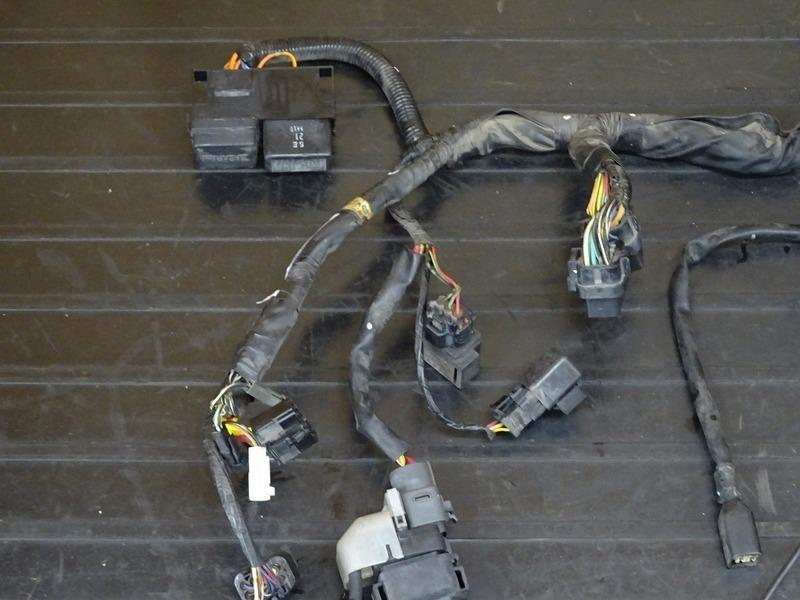 【210712】GSX-R1000 '03■ メインハーネス サブハーネス ヘッドライトハーネス スターターリレー ブレーキスイッチ 【K3 ※検:K4_画像5