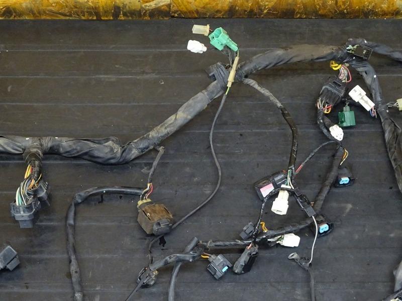 【210712】GSX-R1000 '03■ メインハーネス サブハーネス ヘッドライトハーネス スターターリレー ブレーキスイッチ 【K3 ※検:K4_画像4