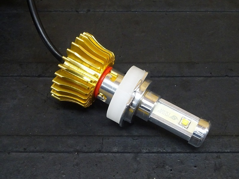 【210714】■ LEDヘッドライトバルブ(5) スフィアライト RIZING ライジング H7 ジャンク!?_画像2
