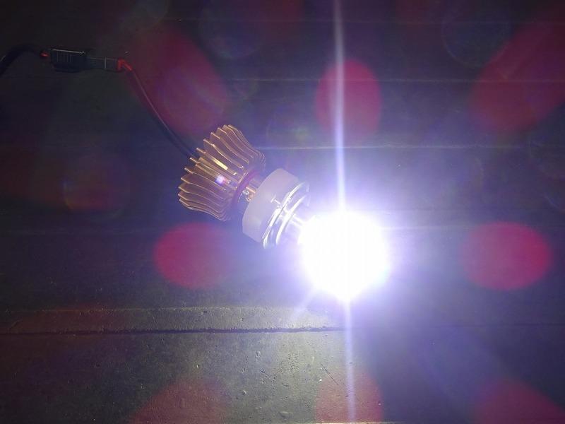 【210714】■ LEDヘッドライトバルブ(5) スフィアライト RIZING ライジング H7 ジャンク!?_画像3