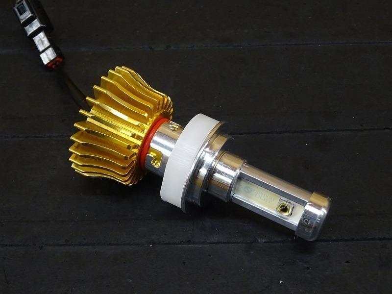【210714】■ LEDヘッドライトバルブ(5) スフィアライト RIZING ライジング H7 ジャンク!?_画像4