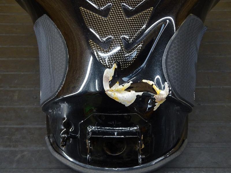【210727】Ninja1000 '15■ 燃料タンク ガソリンタンク フューエルタンク タンクステー ジャンク!! 【NINJA ニンジャ ZXT00L_画像5