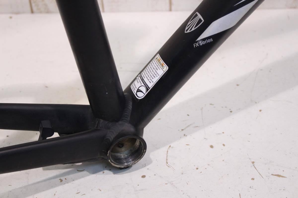 TREK トレック 7.2FX クロスバイクフレーム SSRステム シートポスト付属 2012年 17.5size_画像10