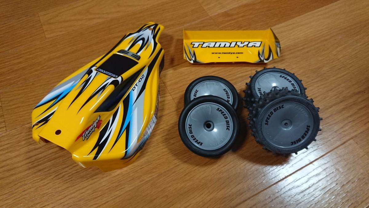 タミヤ TAMIYA 塗装済 サンドバイパー DT-02 スペアボディ タイヤ バギー オフロード ラジコン dt-03