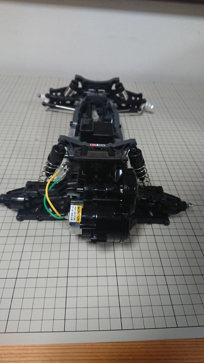 タミヤ ネオマイティフロッグ DT-03 シャーシ XB完成品 新品取り外し品