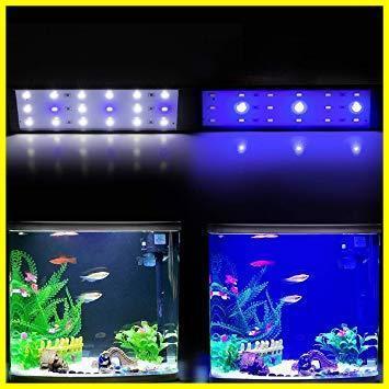 1R 新品 観賞魚/熱帯魚/金魚などの飼育 水草育成 省エネ 長寿命 新品 照明ライト アクアリウム クリップ式9W 水槽LEDランプ 38cm_画像7