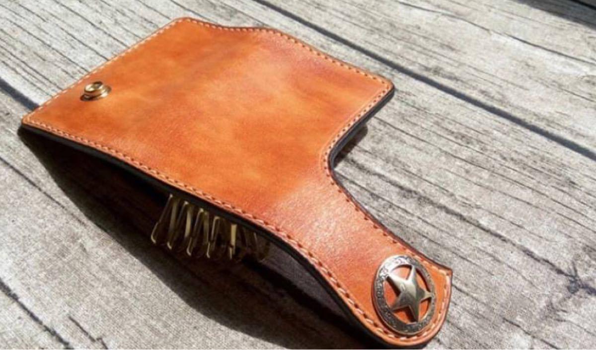 値下げ【レザークラフト】キーケース アクリル型 ハンドメイド 手作り オリジナル 革細工 革小物