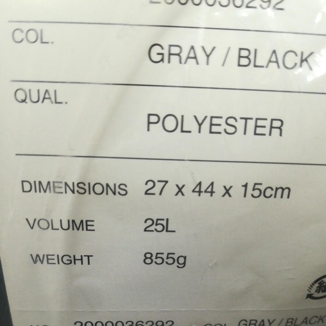 コールマン シールド25 (グレイ/ブラック) Coleman バックパック 防水 リュック アウトドア 通学 通勤