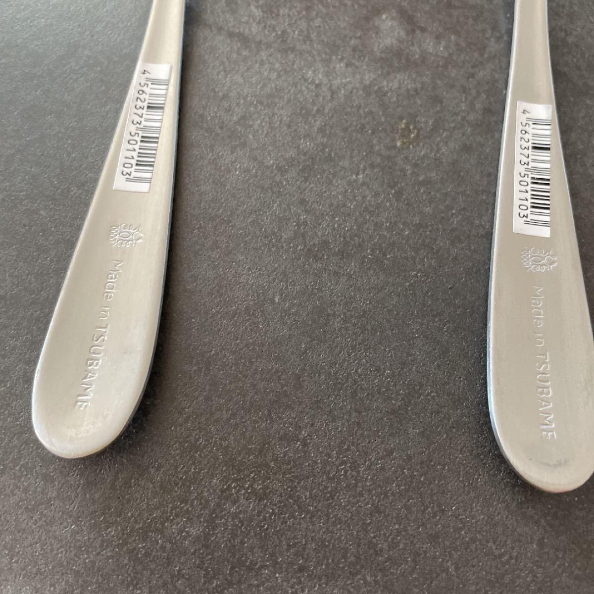 ツバメカトラリー 4本セット フォーク大 新品未使用 made in tsubame 燕  カトラリーセット