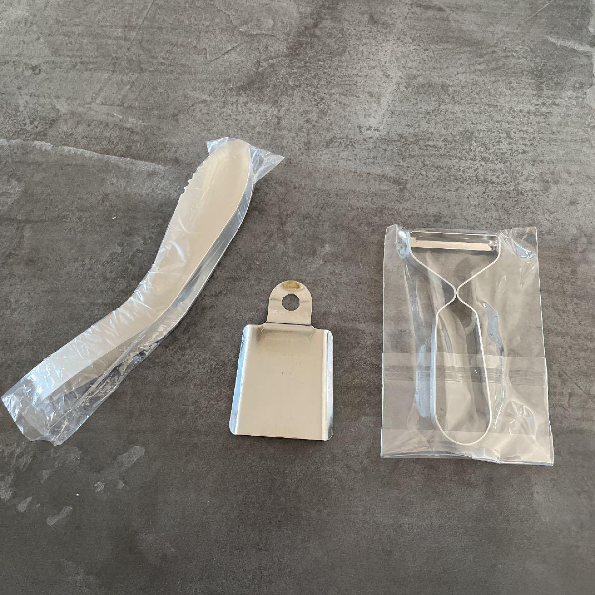 ツバメカトラリー ピーラー&おろし金&トング 3点セット 新品未使用 made in tsubame 燕
