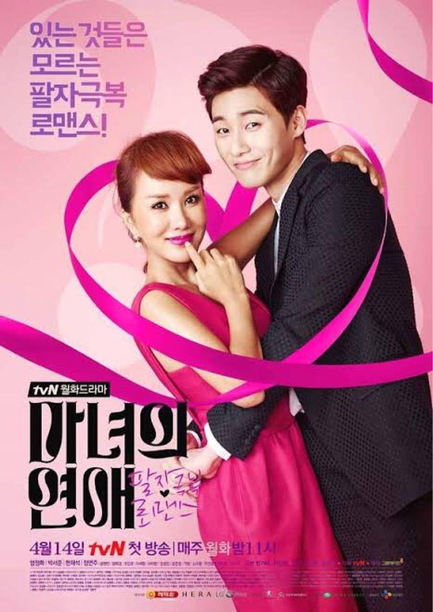 韓国ドラマ 魔女の恋愛 Blu-ray レーベル印刷あり