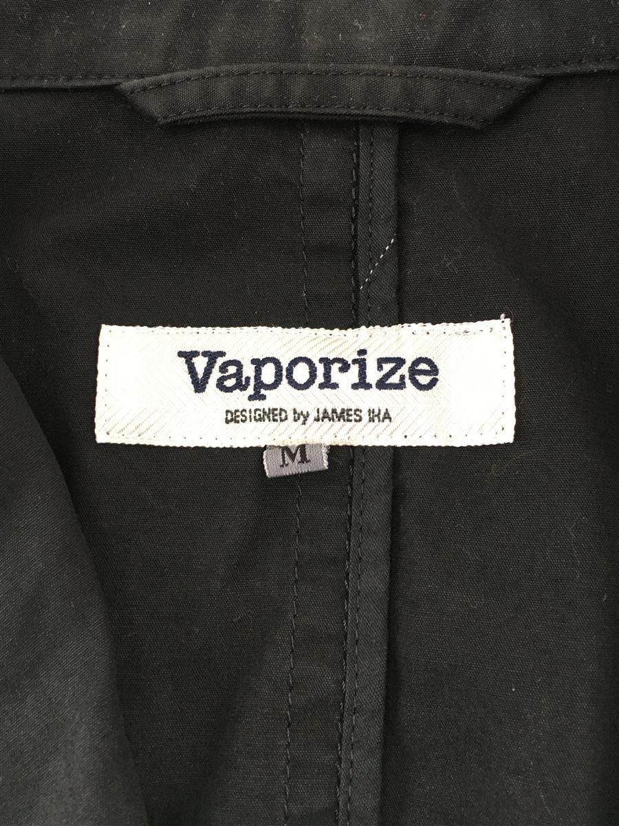 Vaporize◆テーラードジャケット/M/コットン/ブラック/黒/VA-03051011_画像3
