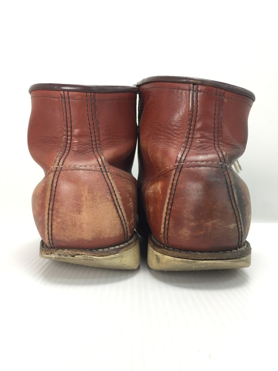 RED WING◆8875/レースアップブーツ・6インチクラシックモックトゥ/US9/RED_画像9