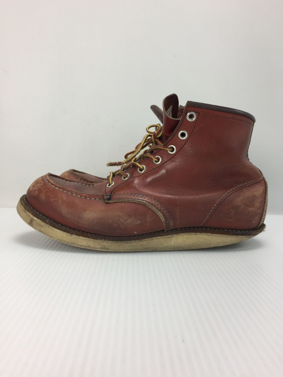 RED WING◆8875/レースアップブーツ・6インチクラシックモックトゥ/US9/RED_画像2
