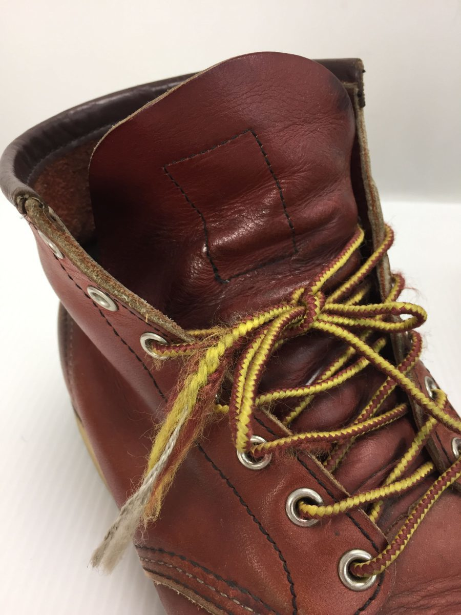RED WING◆8875/レースアップブーツ・6インチクラシックモックトゥ/US9/RED_画像7