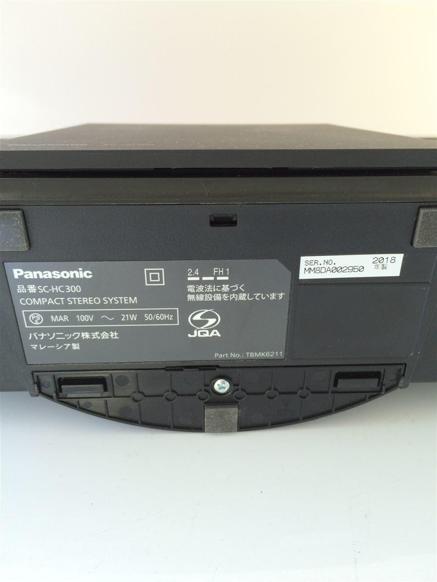 Panasonic◆コンポ SC-HC300-K [ブラック]_画像6