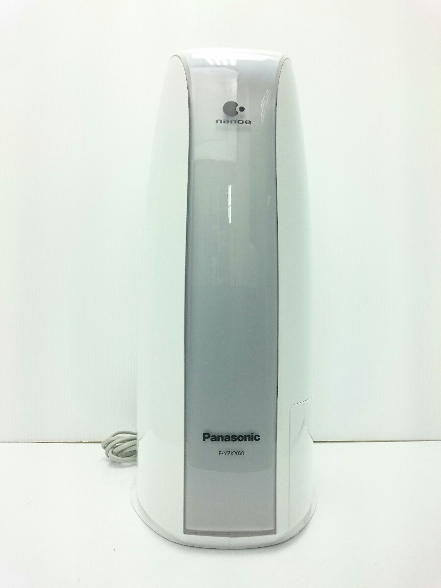 Panasonic◆除湿機 衣類乾燥除湿器 F-YZKX60 デシカント方式 2014年製 ホワイト_画像4