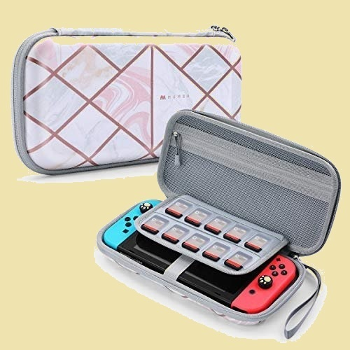 セール 新品 Nintendo Mumba Y-3C ハンドストラップ付 ゲ-ムカ-ドケ-ス Switch ケ-ス 防水 防塵 耐衝撃 ニンテンドスイッチ_画像1