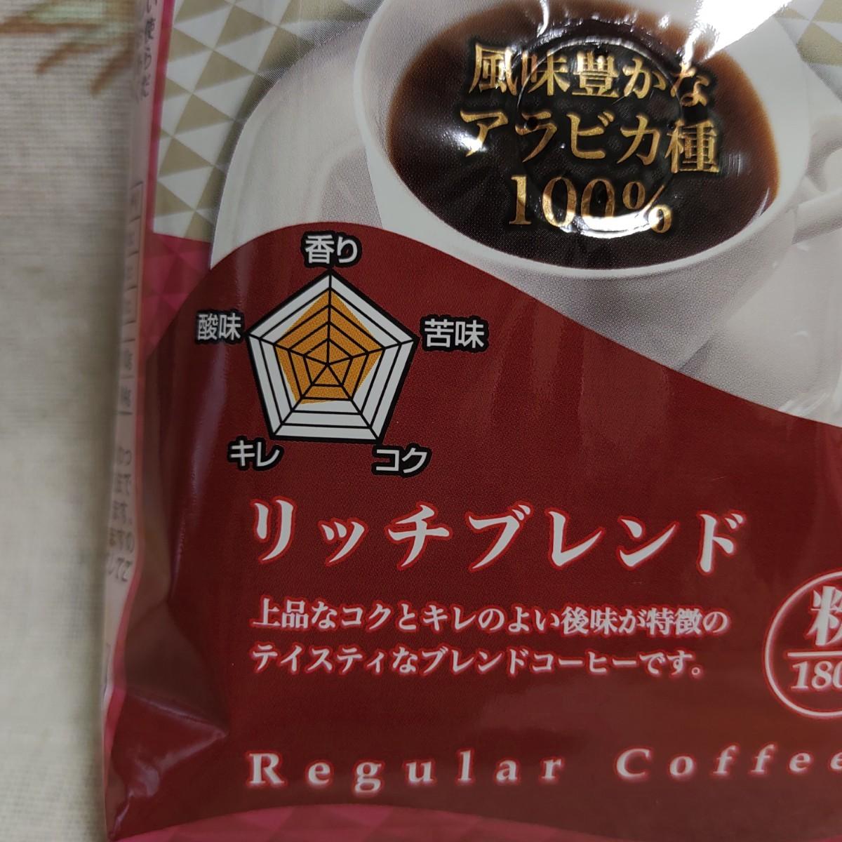 レギュラーコーヒー リッチブレンド