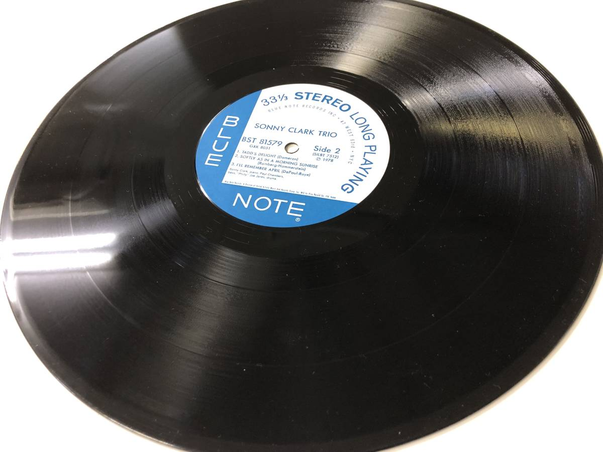 Sonny Clark Trio キング再発盤 78年 BLUE NOTE_画像6