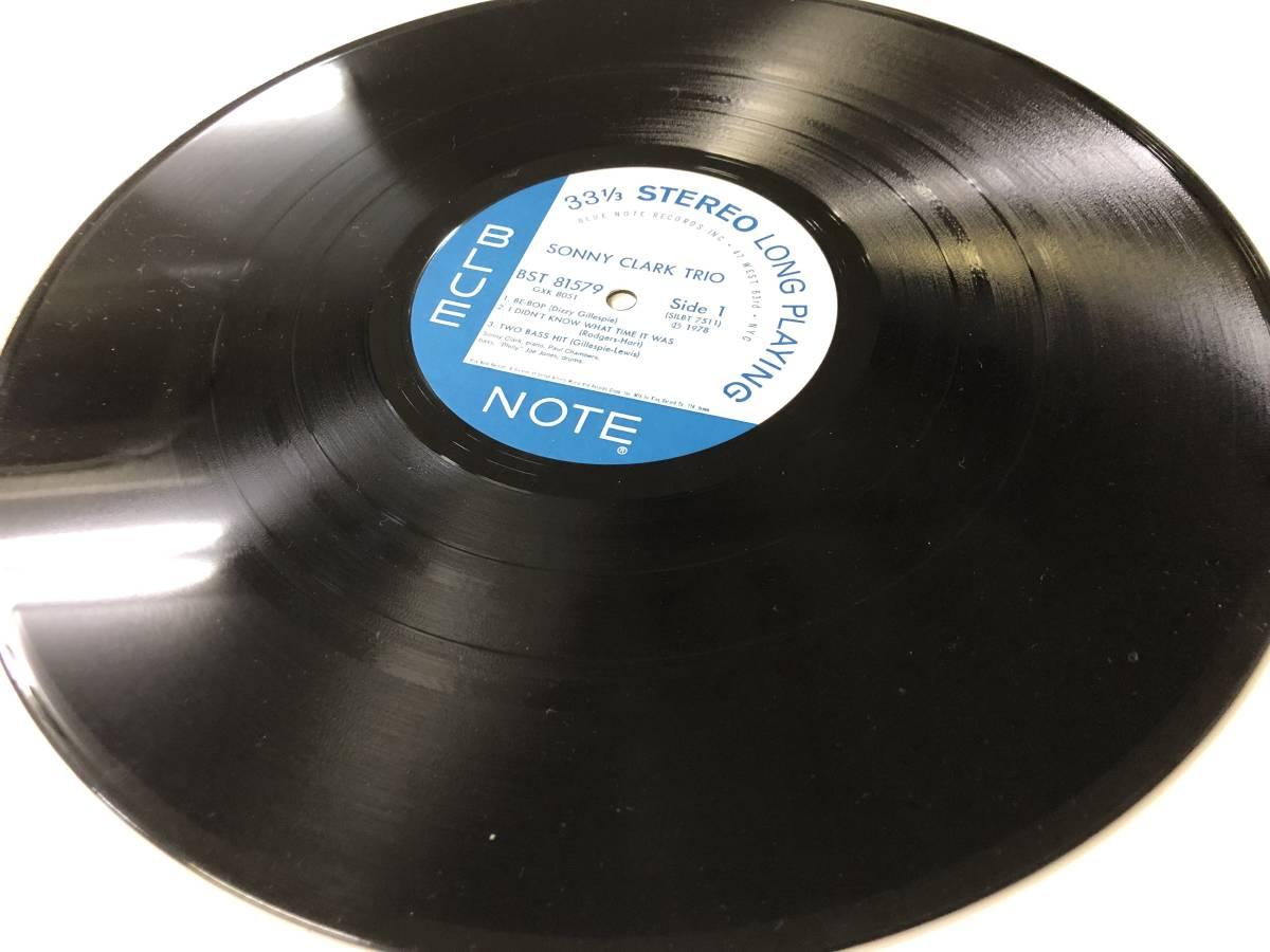 Sonny Clark Trio キング再発盤 78年 BLUE NOTE_画像7